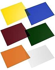 Selens - Juego de filtros de Gel (40 x 50 cm), Color Transparente