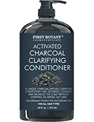 Activated Charcoal Professional Hair Conditioner for...