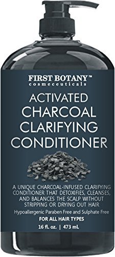 Activated Charcoal Professional Hair Conditioner for Men and