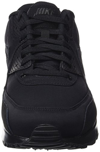 quality design 8d6d7 43469 Nike Air Max 90 Essential, Baskets Homme, Noir (Black black black), 42.5  EU  Amazon.fr  Chaussures et Sacs