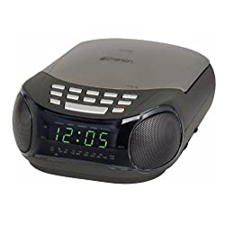 EMERSON DUAL ALARM CLKRADIO AMFM CD PLAYER RADIO AMFM CD PLAYER