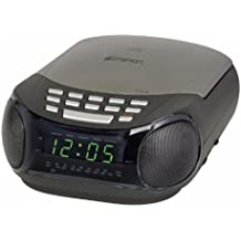 EMERSON DUAL ALARM CLKRADIO AMFM CD PLAYER RADIO AMFM CD PLAYER