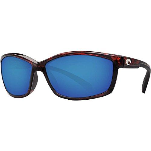 Costa Del Mar Manta 580P Manta, Tortoise Frame Blue Mirror, Blue Mirror