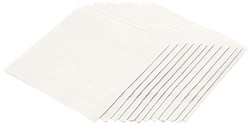 Cocktail Napkins Ply 3 (Jubilee 3-Ply Cocktail Beverage Napkins, 80 Count, White)