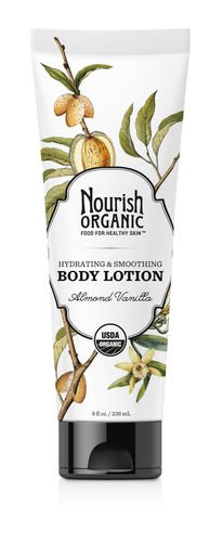 Nourish Organic Body Lotion Almond Vanilla, Almond Vanilla 8