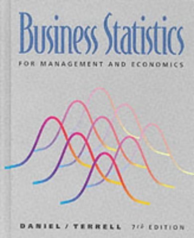 Business Statistics for Management and Economics