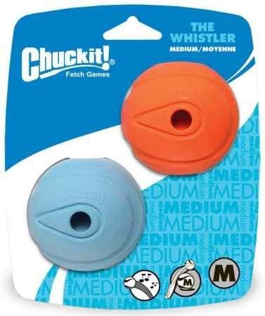 Canine Hardware Chuckit Whistler Ball Medium