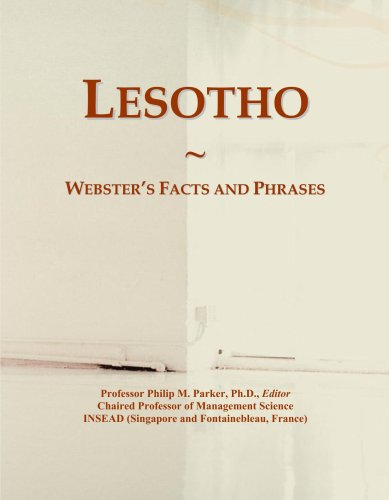 Lesotho: Webster's Facts and Phrases...