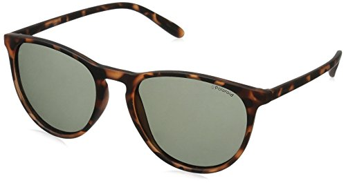 Polaroid Sunglasses Pld6003n Round, Havana Orange/Green Polarized, 54 - Glasses Polaroid Sun