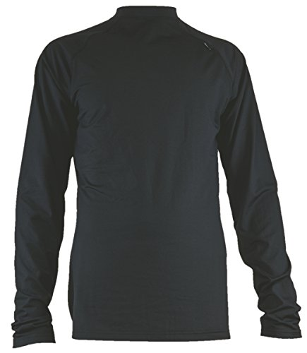 上院燃やすシャイニングBULA(ブラ) DOUG MICRO STRETCH MENS CREW NECK F3MLDOU BLACK L