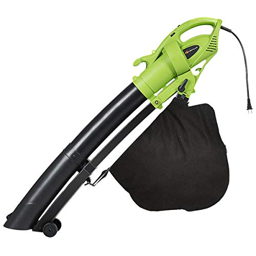 Goplus 3-in-1 Electric Leaf Blower Vacuum Mulcher Lightweight Corded Kit