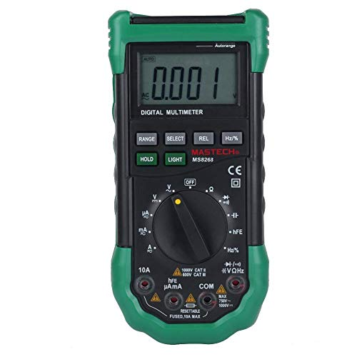 Mastech MS8268 Series Digital AC/DC Auto/Manual Range Digital Multimeter