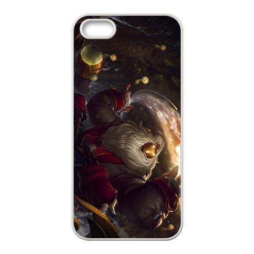Bard 001 coque iPhone 5 5s cellulaire cas coque de téléphone cas blanche couverture de téléphone portable EOKXLLNCD26749