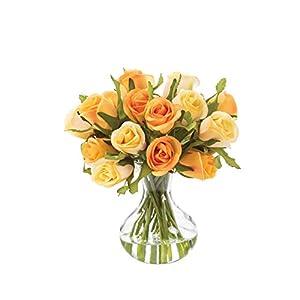 Petals Sweetheart Rose Silk Flower Arrangement 3