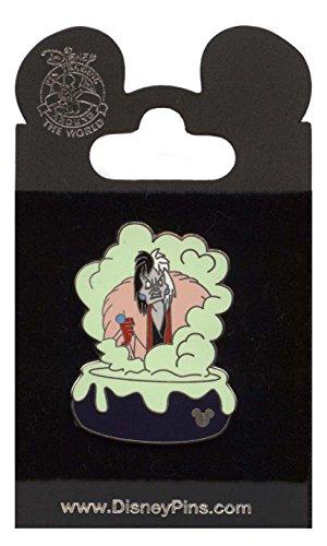 Disney Hidden Disney Pin - Disney Pin - WDW - Hidden Mickey Collection - Cruella Cauldron