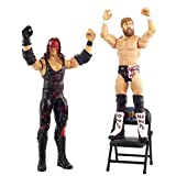WWE Wrestlemania 2-Pack with 6-inch