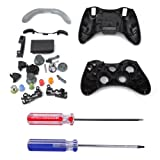 Cheap HDE Xbox 360 Wireless Controller Shell Buttons Thumbsticks Torx Screwdriver Replacement Case Cover and Tool Kit – Black