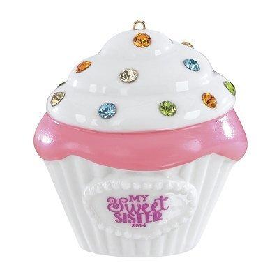 Sister Cupcake 2014 Carlton Heirloom Ornament by American Greetings