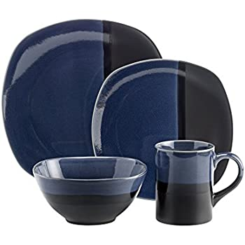 Amazon Com Corelle Hearthstone Stoneware Square 16 Piece