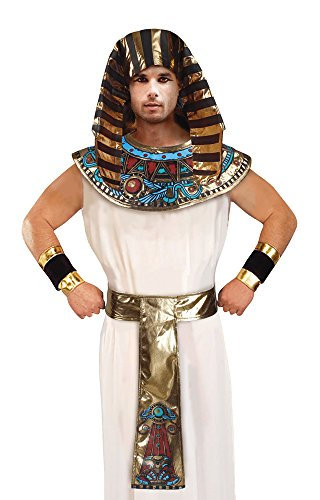 Bristol Novelty DS178 Adults Pharaoh Costume Accessory Set, Rainbow, One Size -