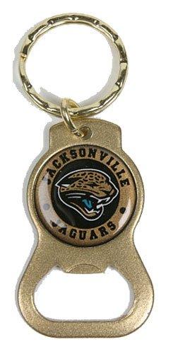 Jacksonville Jaguars Keychain & Keyring - Bottle Opener (gold) by Siskiyou