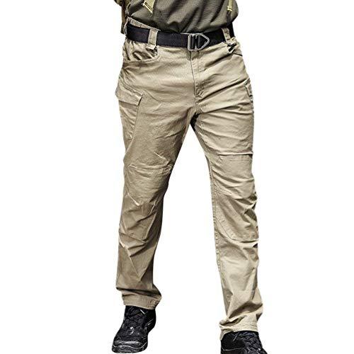 Plein Coton En Simple Style Vintage Air Mode Lâche Cargo Survêtement Décontrac Crystallly Pantalons Combat Travail Pantalon Kaki Hommes De D'entraînement Pour BxCnfTSqw4