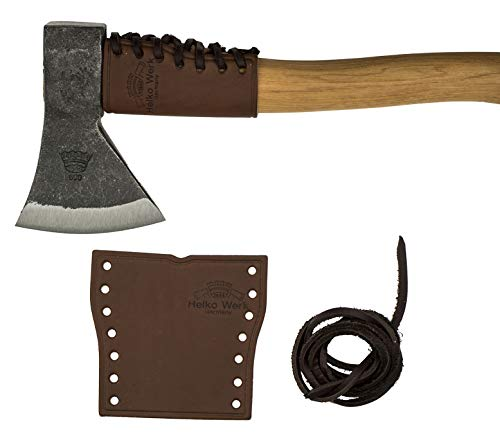 Helko Leather Handle Guard - Hatchet Collar