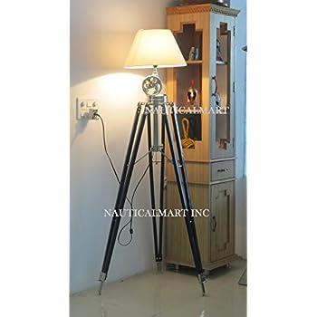 ROYAL MARINE TRIPOD FLOOR LAMP- NAUTICALMART - - Amazon.com