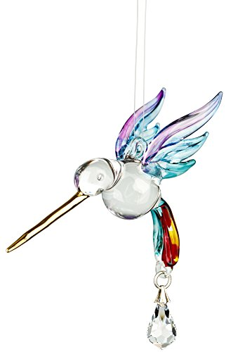 Woodstock Hummingbird Summer Rainbow Fantasy Glass- Rainbow Maker Collection by Woodstock Chimes