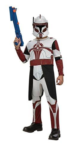 Commander Fox Star Wars Child Costume size Small -