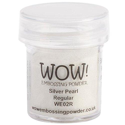 Wow Embossing Powder WOW! Embossing Powder, 15ml, Silver Pearl WOW-WE02R