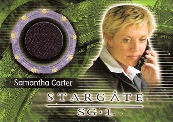 Stargate Sg 1 Costume (Stargate SG-1 Amanda Tapping (Samantha Carter) Costume Trading Card #C62)