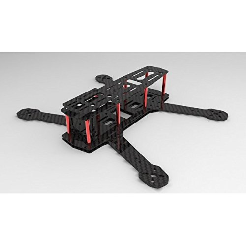 QAV Mini H Quad Frame micro 220mm FPV Carbon fiber Quadcopter Frame VS Blackout