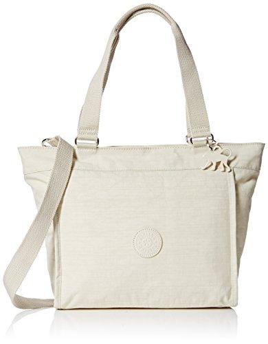 Kipling New Shopper S - Shoulder Bag Woman Synthetic Bone (dazz Cream)