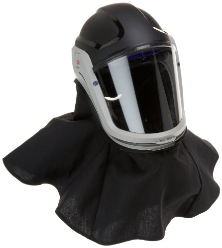 3M M-400 Series Versaflo Respiratory Helmet Assembly M-407, with Premium Visor and Flame Resistant Shroud by 3M Personal Protective Equipment