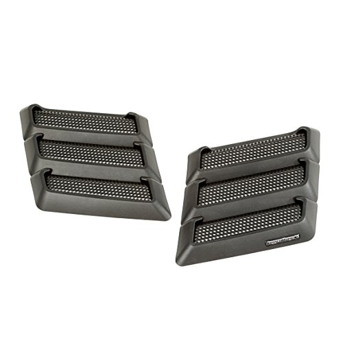 Rugged Ridge Black Performance JK Jeep Wrangler Hood Vents