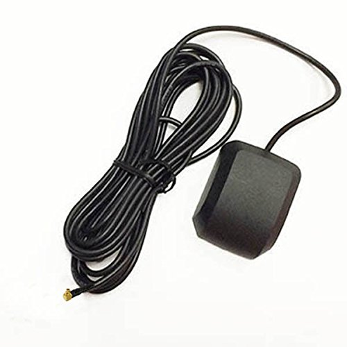 Mmcx Gps Antenna (NEW Car GPS antenna aerial with MMCX connector male plug right angle 3M cable Good Quality Fast USA Shipping)