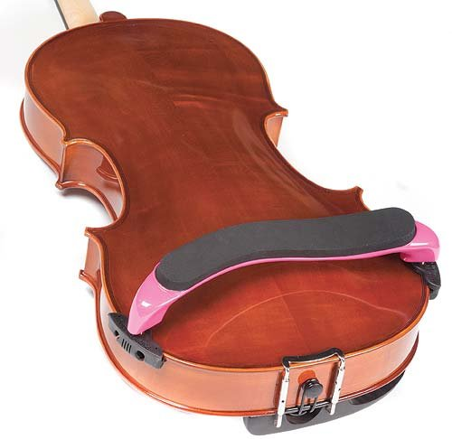Everest Pink ES Series 15''-16.5'' Viola Adjustable Shoulder Rest by Everest (Image #4)