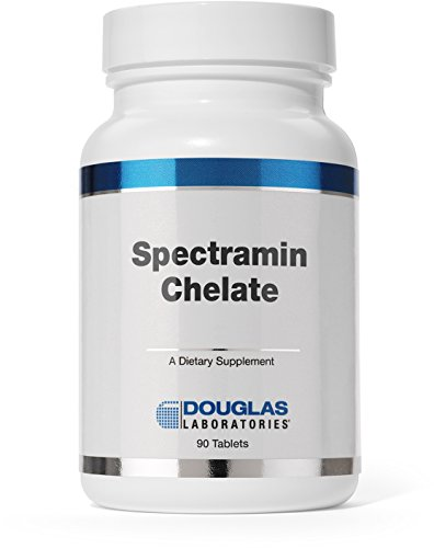 Douglas Laboratories® - Spectramin Chelate - Comprehensive Iron-Free Mineral / Trace Element Formula - 90 - 90 Tabs Gtf Chromium