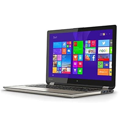 "Toshiba 2-in-1 Convertible Tablet UltraBook 15.6"" Touchscreen Laptop - Intel Core i7 - 12GB DDR3L Ram Memory - 256GB SSD Solid State Drive P55W-B5318"