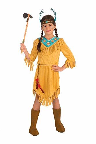 Forum Novelties Little Flower Native American Child Costume, Medium (Pocahontas Dress Up)
