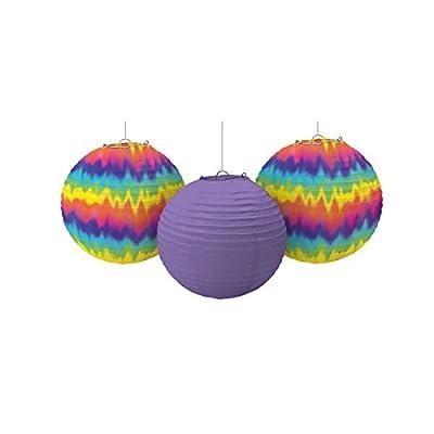 60's Round Party Lanterns, 9.5