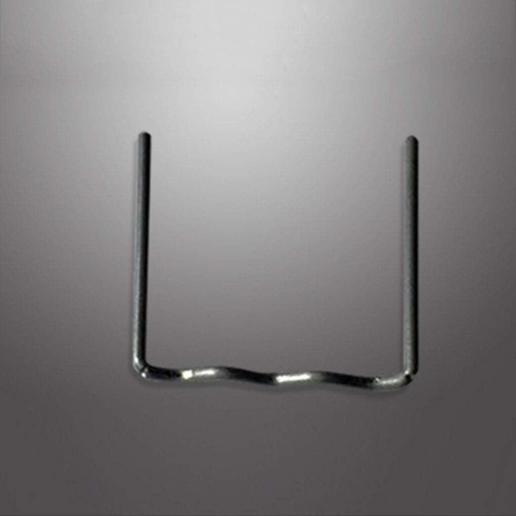 COLUDOR 100 Pcs//Set Precut 0.6mm Wave Flat Hot Staples For Plastic Stapler Repair Welder