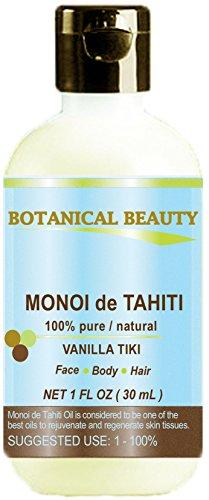MONOI DE TAHITI Oil VANILLA TIKI 100% Pure / Natural / Undil