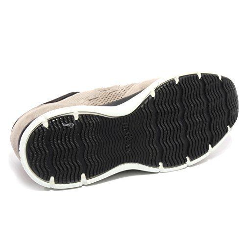 B2088 sneaker uomo HOGAN H 3D FORATO grigio/nero shoe men Grigio/Nero