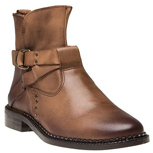 Tan Boots Sole Tan Sole Boots Veda Cognac Cognac Veda Sole HqwnUdP