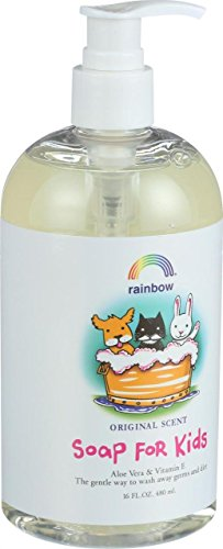 - Rainbow Research Kids Original Scent Liquid Soap, 16 Ounce - 6 per case.