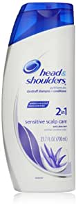 Head and Shoulders Sensitive Scalp Care 2 In 1 Dandruff Shampoo + Conditioner 23.7 Fluid Ounce