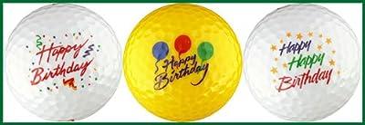 Happy Birthday Variety Golf Ball Gift Set