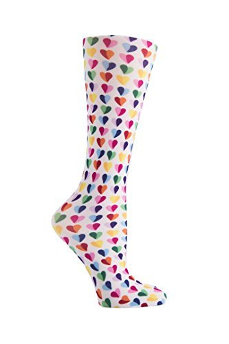 Cutieful Women's Nylon 8-15 Mmhg Compression Sock Sweetheart from Cutieful